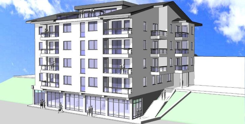 Zgrada u Travniku. U izgradnji!